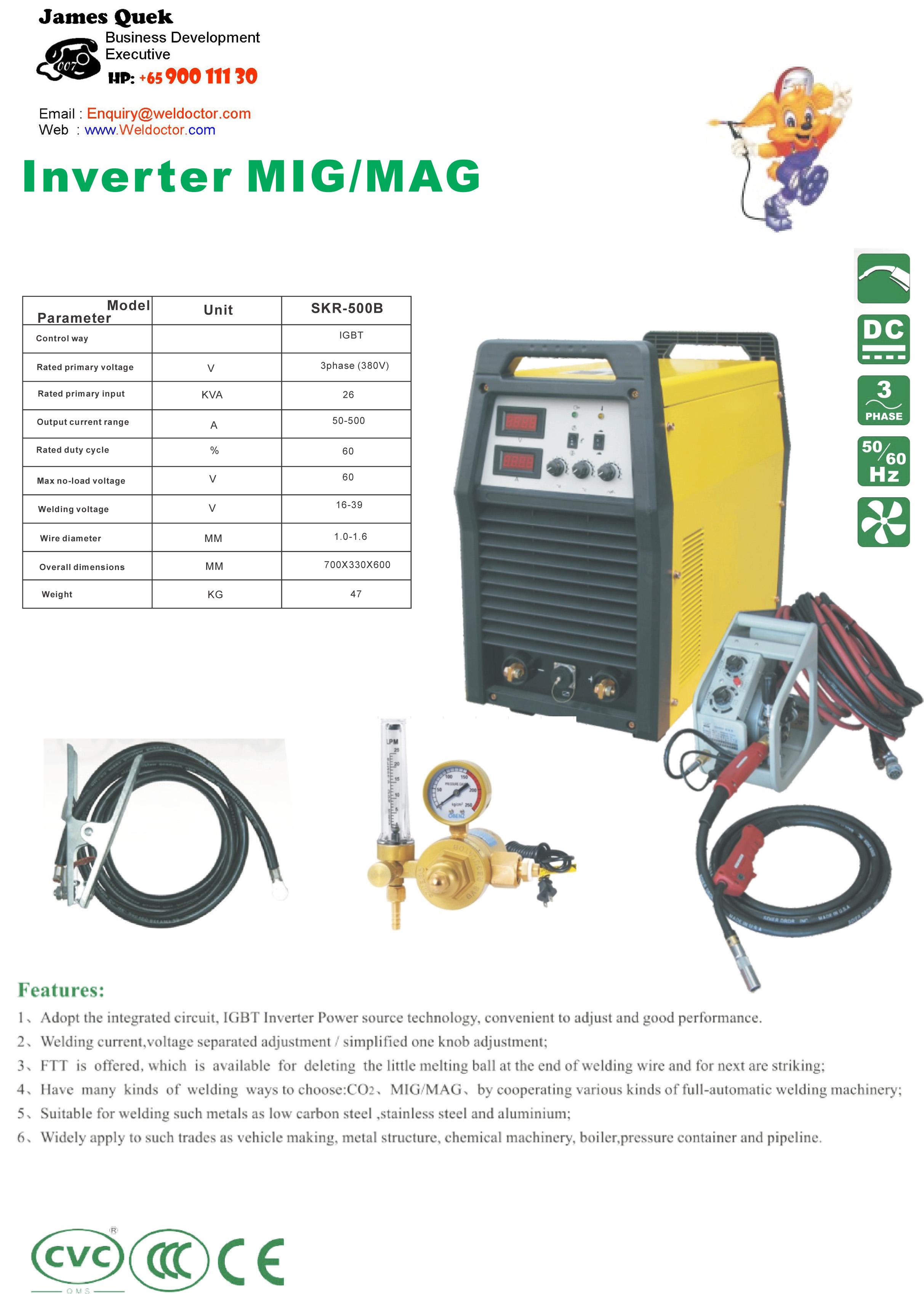 SKR500B MIG Welding Machine